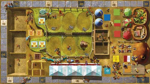 Dungeon Petz - board area