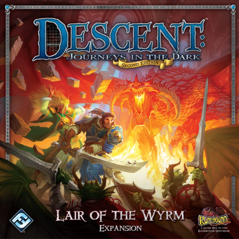 Descent 2e: Lair of the Wyrm