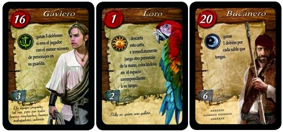 Libertalia, cards