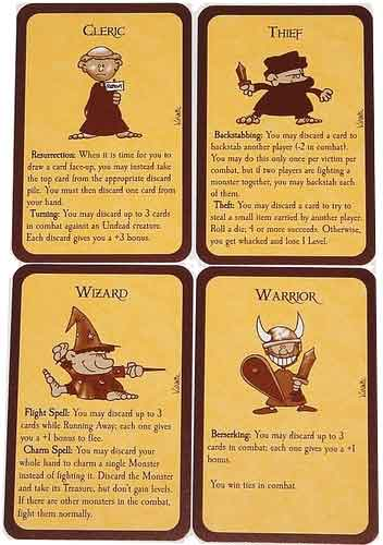 Munchkin races cards