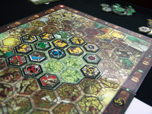 Neuroshima Hex board