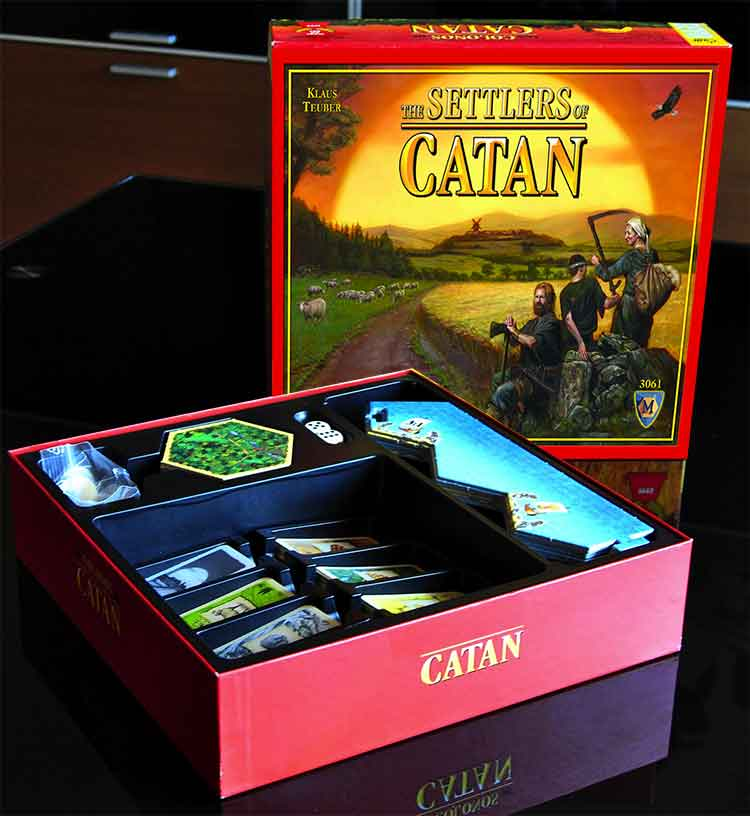 Settlers of Catan, box